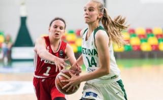 R.Šiškausko turnyrą merginų rinktinė pradėjo sumindydamos lenkes