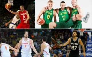 Į NBA - užsieniečių antplūdis: šis sezonas tapo rekordiniu