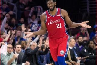 J.Embiidas geriausiai besiginančiu NBA žaidėju įvardijo save