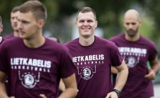 V.Lipkevičius pasiruošęs perimti estafetę iš S.Jasaičio
