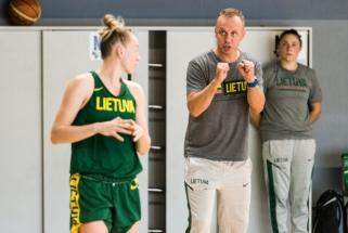 Moterų rinktinė pasiruošimą Europos čempionato atrankai pradėjo Kaune
