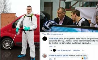 Į viešą S.Galdiko klausimą ministerijai atsakė G.Einikis: nekriok, nemirsi badu
