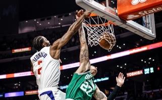 NBA Top 10 viršūnėje - įspūdingas K.Leonardo skrydis