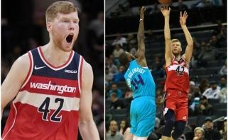 Tritaškiais varžovus į neviltį varęs latvis pasiekė rezultatyvumo rekordą NBA (rezultatai)