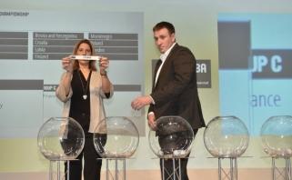 Ištraukti Europos jaunimo čempionatų burtai