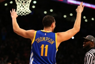 """""""Warriors"""" žvaigždė K.Thompsonas: numeris 11 - ypatingas mano gyvenime"""