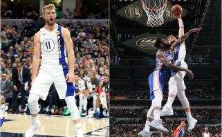 D.Sabonis sužavėjo NBA: riaumojančiam lietuviui – pirma vieta lygos tope