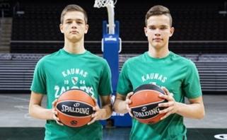 """""""Žalgirio"""" sistemoje – talentingi broliai dvyniai iš Panevėžio"""