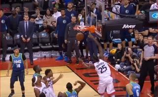 """Monstriškas Giannio dėjimas ir įspūdinga """"Raptors"""" ataka - gražiausi NBA epizodai"""
