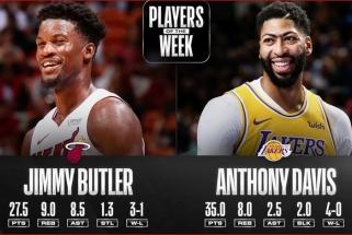 """""""Lakers"""" ir """"Heat"""" žvaigždėms - NBA savaitės MVP apdovanojimai"""