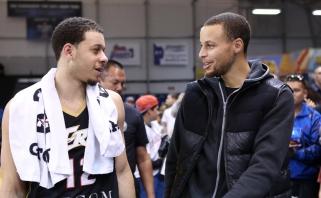 Sethas Curry norėtų įrodyti, kad turi ne mažiau taiklią ranką už žvaigždėtąjį brolį