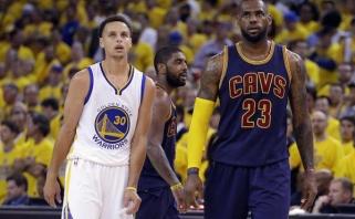 NBA paskelbė geriausių sezono žaidėjų penketukus