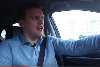 D.Adomaitis: man automobilyje svarbiausia saugumas ir patogumas mano šeimai