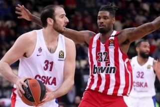 CSKA paliko snaiperis amerikietis ir aukštaūgis graikas (komentaras)