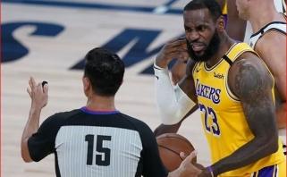 """L.Jamesas: """"Lakers"""" moraliai nepasiruošę atkrintamosioms varžyboms"""