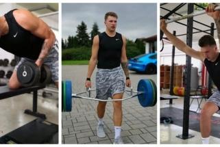L.Dončičius vasaros veltui nešvaisto: į NBA arenas grįš viršsvorį pakeitęs raumenimis