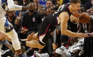 """NBA: lyderiai """"Clippers"""" krepšininkai įveikė ir """"Timberwolves"""" (visi rezultatai)"""