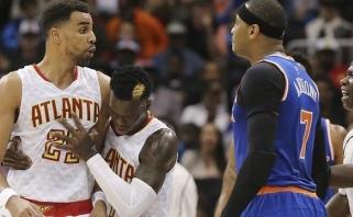 """C.Anthony diskvalifikacija, """"Knicks"""" nesėkmė po pratęsimo ir nepavargęs M.Kuzminskas"""