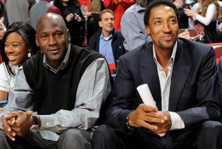 """S.Pippenas: """"Paskutinis šokis"""" nesugadino mūsų su M.Jordanu santykių"""