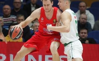 Į Kauną nekeliavo trys CSKA žaidėjai, tačiau žais M.Jamesas