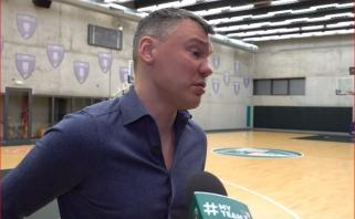 """Š.Jasikevičius ruošiasi rimtai kovai prieš """"Zenit"""": su nauju treneriu jie tapo didele jėga"""