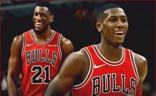 """Clippers"" domisi ""Bulls"" gynėju ir patyrusiu puolėju"