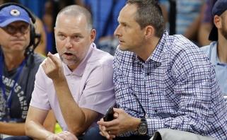 """M.Malone'as: """"Nuggets"""" žaidėjai mėgsta pakalbėti, noriu, kad jie parodytų, o ne kalbėtų"""