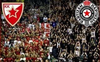 """""""Crvena zvezda"""" palaiko """"Partizan"""" siekį gauti Eurolygos vardinį kvietimą"""