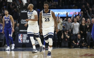 """Dramos kulminacija: """"Timberwolves"""" iškeitė J.Butlerį į """"76ers"""""""