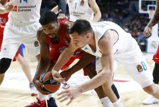S.Rodriguezo sugrįžimas į Madridą pažymėtas CSKA nesėkme (video)