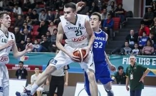 Lietuvos jauniai nusileido prancūzams ir laimėjo Europos čempionato sidabrą
