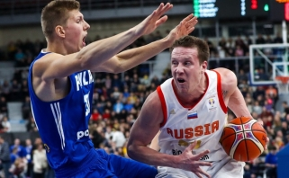 Rusai panaikino 18 taškų deficitą ir išplėšė bilietą į pasaulio čempionatą