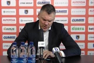 Labai patenkintas Š.Jasikevičius: LKL rungtynėse pradedame rodyti Eurolygos lygį