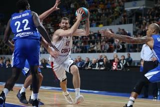 CSKA pirmą kartą VTB lygos sezoną pradėjo nesėkme - krito Sibire