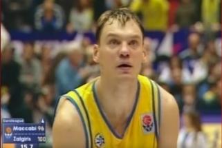 """""""Žalgiris"""" kviečia prisiminti revanšą prieš Š.Jasikevičiaus """"Maccabi"""" bei V.Ginevičiaus karjeros rungtynes"""