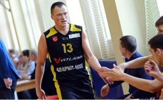 Triuškinančią pergalę iškovoję tauragiečiai - per žingsnį nuo titulo ir patekimo į NKL