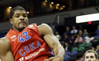 Geriausias Eurolygos sezono besiginantis žaidėjas - CSKA puolėjas K.Hinesas