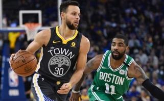 S.Curry ir K.Irvingui reguliarusis sezonas baigėsi anksčiau laiko