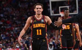 """""""Hawks"""" ant Youngo sparnų nuskriejo į pirmą pergalę NBA Rytų pusfinalyje"""