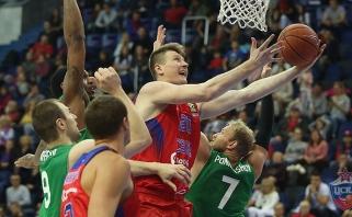 """CSKA palaužė """"Uniks"""" krepšininkus ir pateko į A.Gomelskio taurės finalą"""