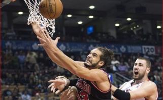 """""""Knicks"""" atleido už 53 rungtynes 72 mln. dolerių uždirbusį Noah"""
