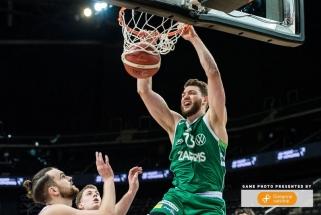 """Gebeno ir Lukošiūno sezono rungtynės vainikuotos lengva """"Žalgirio"""" pergale"""