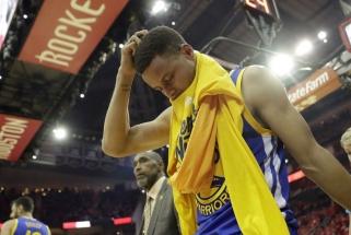 """S.Curry: man patinka kalbos, kad """"Warriors"""" liko už borto"""
