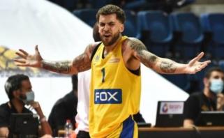 """Kontraversiškas sprendimas: """"Maccabi"""" lyderis diskvalifikuotas prieš pat lemiamą mačą"""
