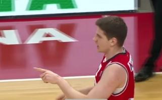 A.Gudaitis vos per 21 minutę tapo LKL savaitės MVP