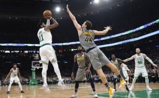 """D.Sabonis ir """"Pacers"""" paskutinę sekundę pralaimėjo """"Celtics"""" ekipai"""
