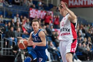 Klaipėdiečiai parbloškė NKL čempionus ir tapo antraisiais finalo dalyviais