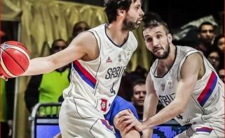 Olimpiniai ir Europos vicečempionai serbai tik po pergalės paskutiniame mače pateko į pasaulio čempionatą