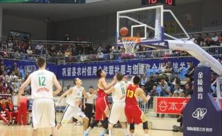 Aštuoniolikmečiai tęsia rungtynių seriją Kinijoje