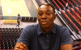 Lietuvą aplankęs Ganos krepšinio atstovas: į Afriką noriu parvežti žinių ir patirtį